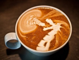 Capuccino dragon