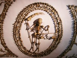 Yes, human bones.