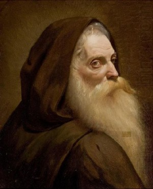 Capuchin Monk by Almeida Junior