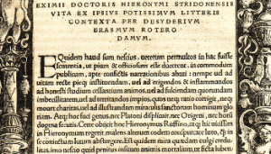 Erasmus_hieronymus for Latin Text page