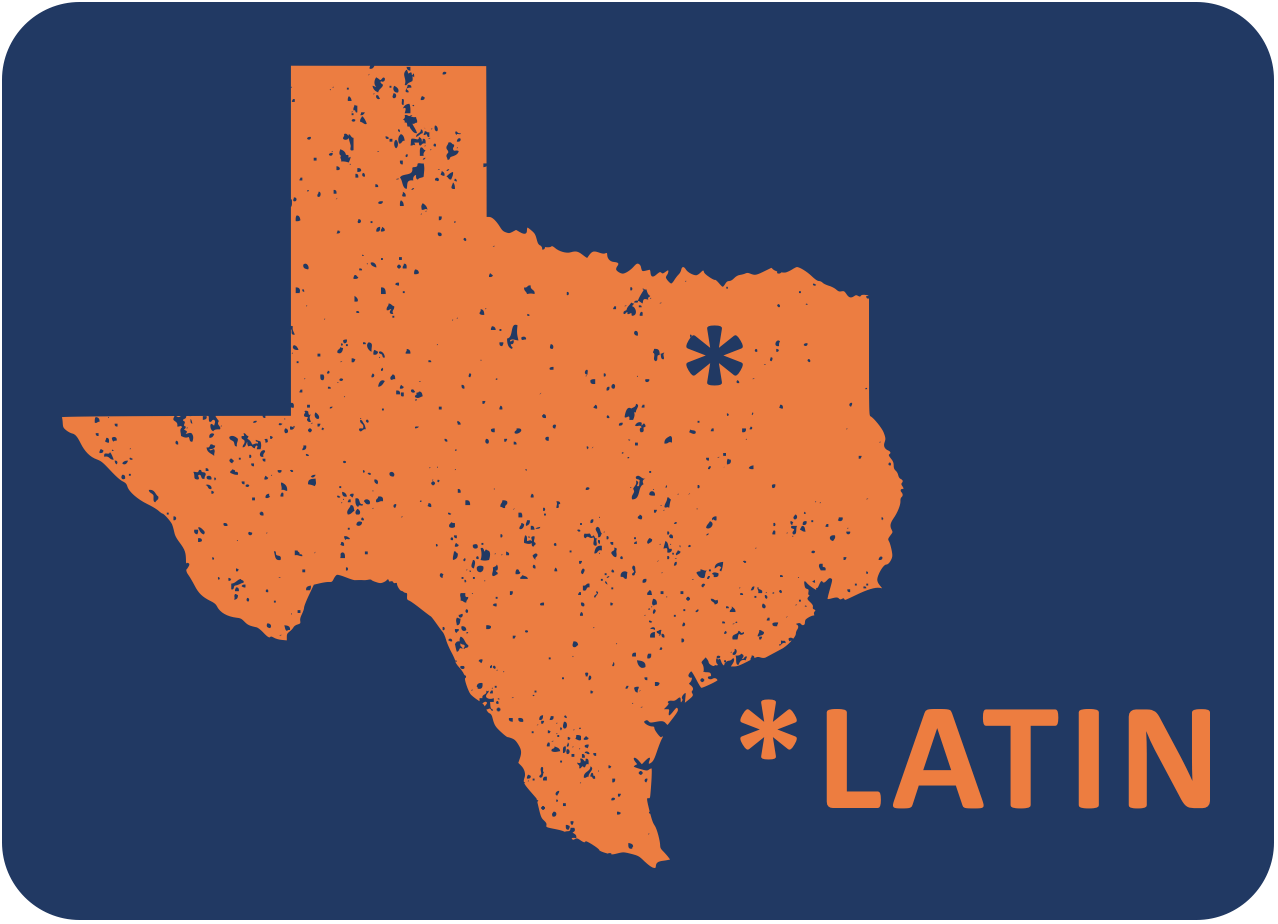 Texas Latin logo