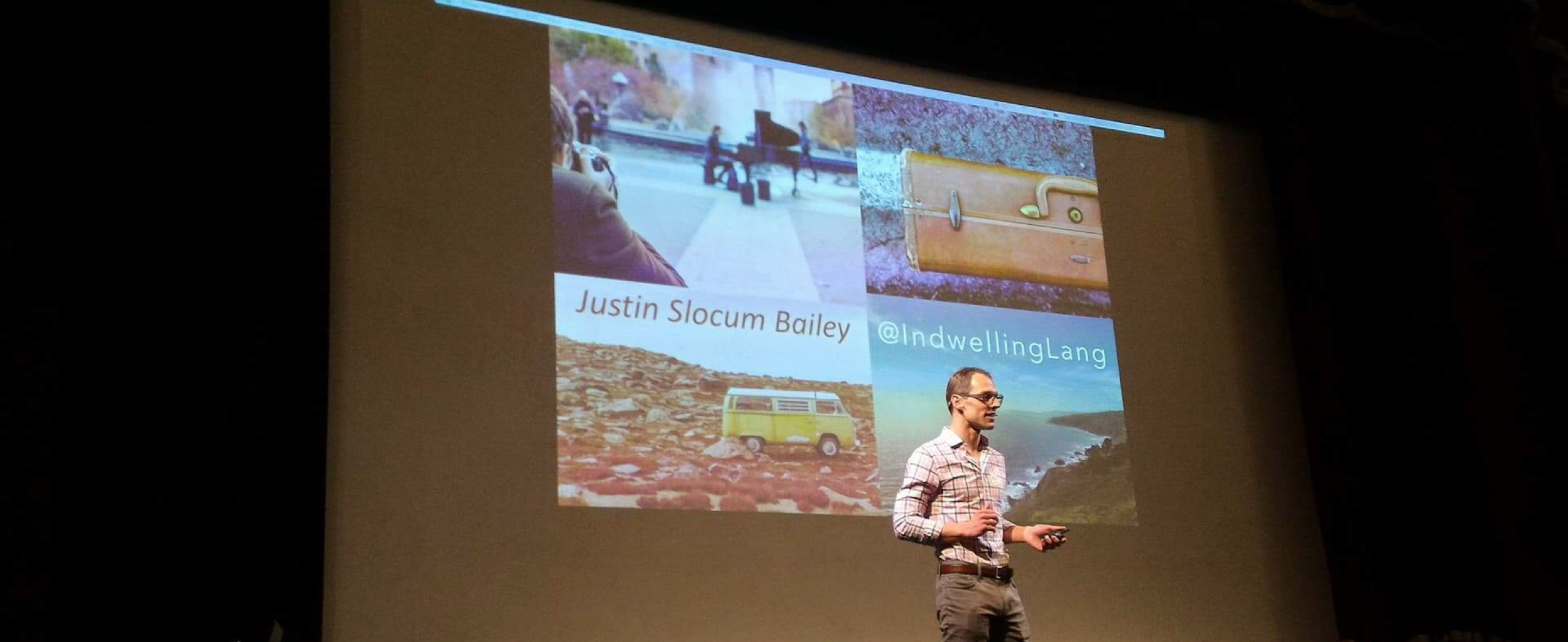 JSB speaking at GrecoLatinoVivo conference Naples 2018
