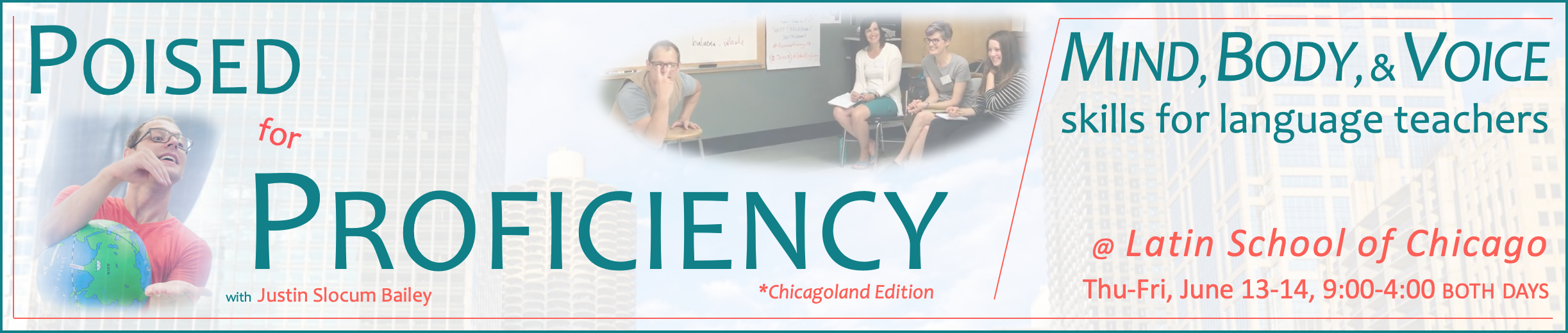 Poised for Proficiency Chicago banner with border and background 2