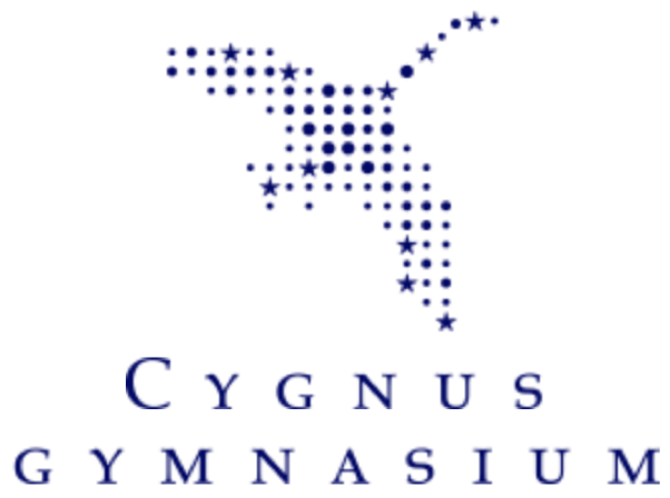 logo of Cygnus Gymnasium (high school) in Amsterdam, Netherlands
