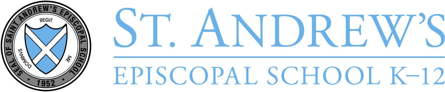 logo of St Andrew's Episcopal School in Austin, Texas